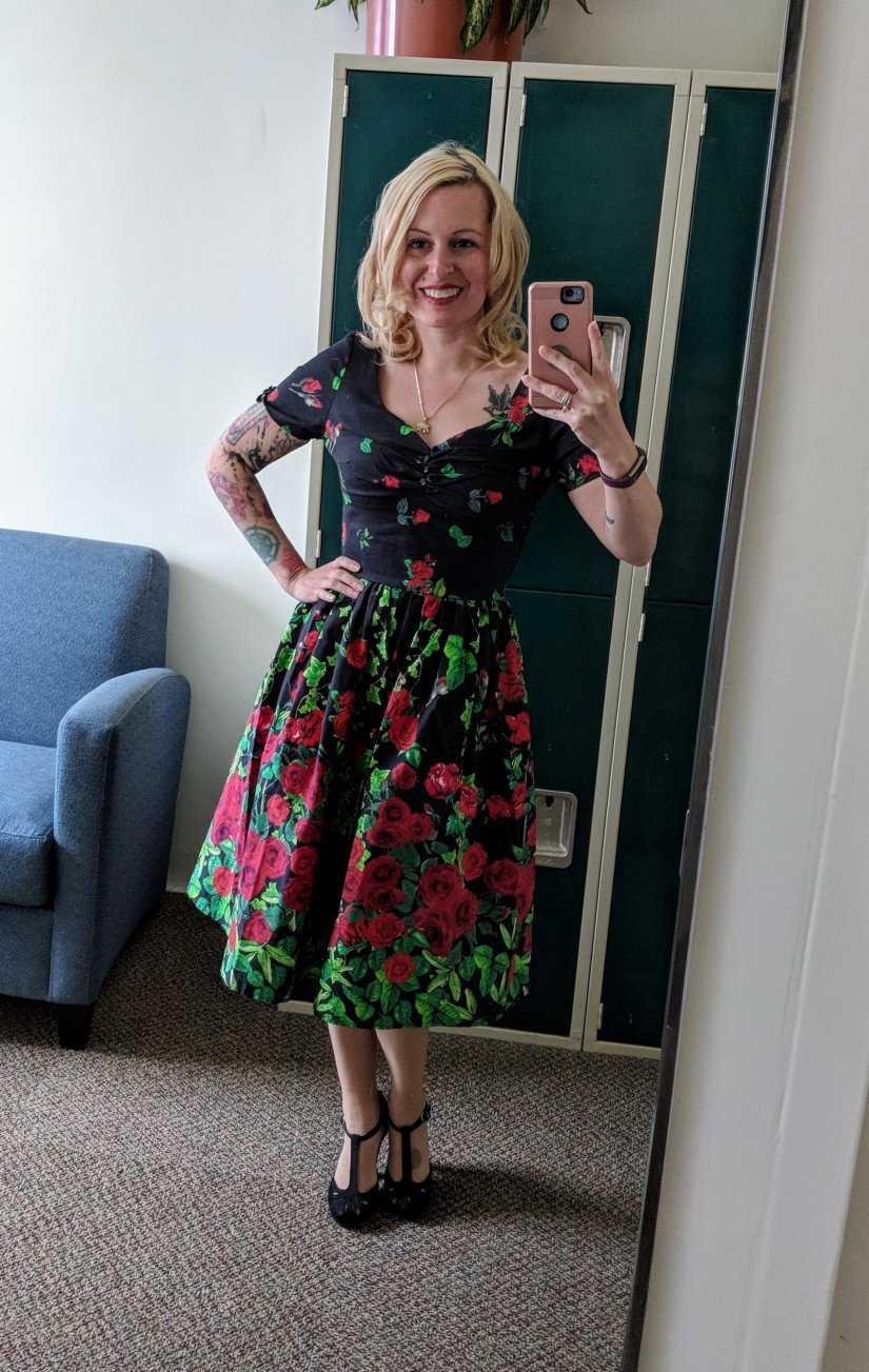 Vintage Floral Dress from Unique Vintage