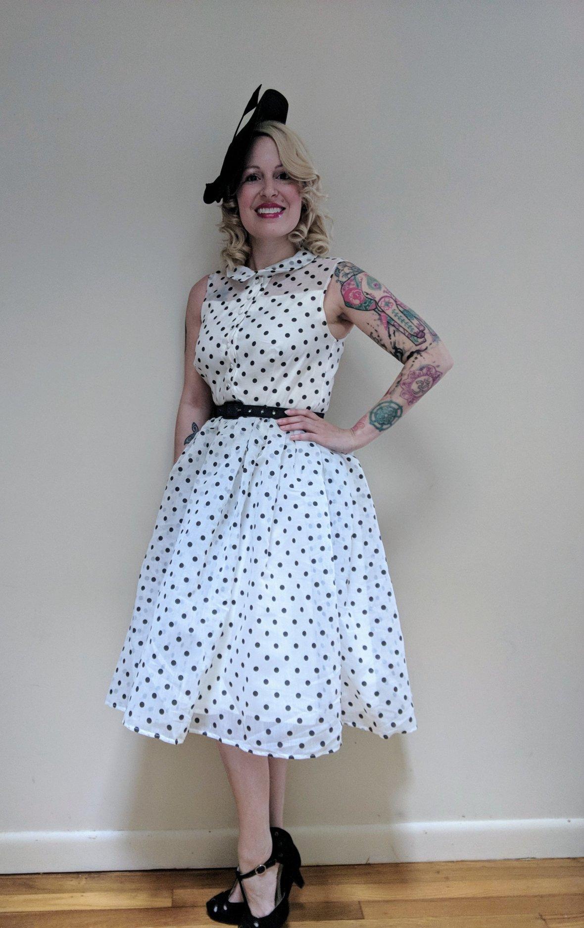 Vintage 1950s Dress from Unique Vintage