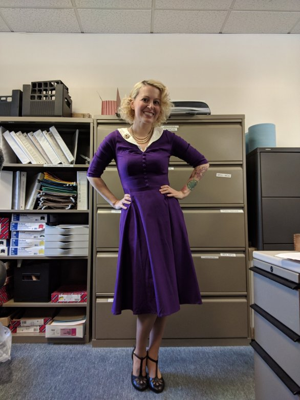1950s vintage style Dress from Amazon