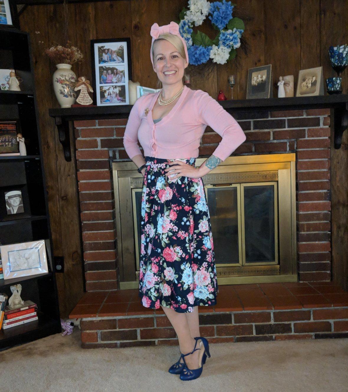 Vintage Floral Skirts