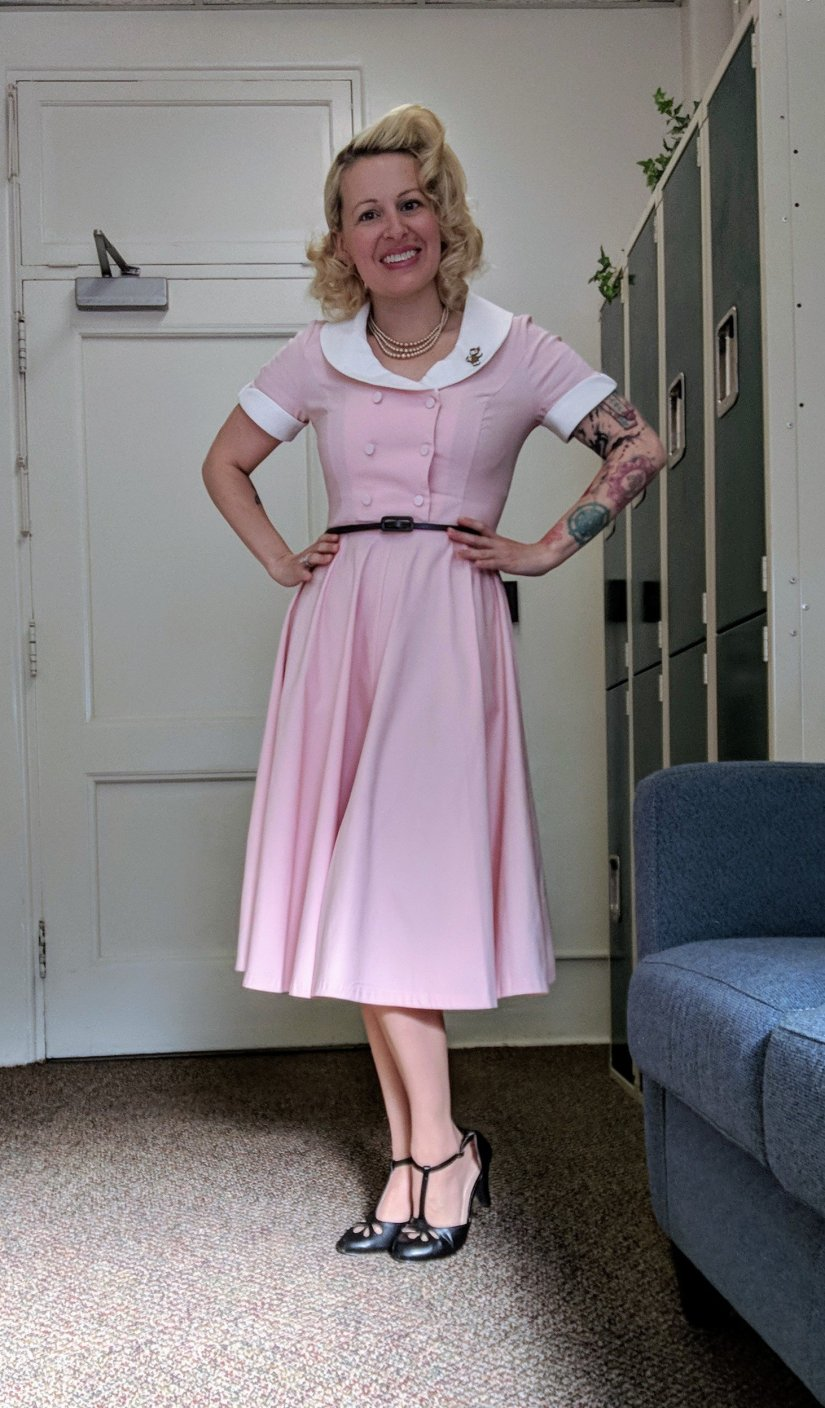 1950s Swing Dress from Gown Town