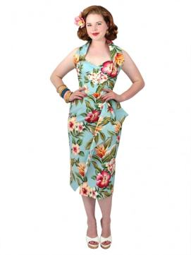 Vintage Sarong Dress by Vivien of Holloway