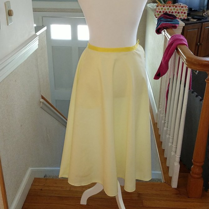 1950s Simplicity Skirt Pattern 8446