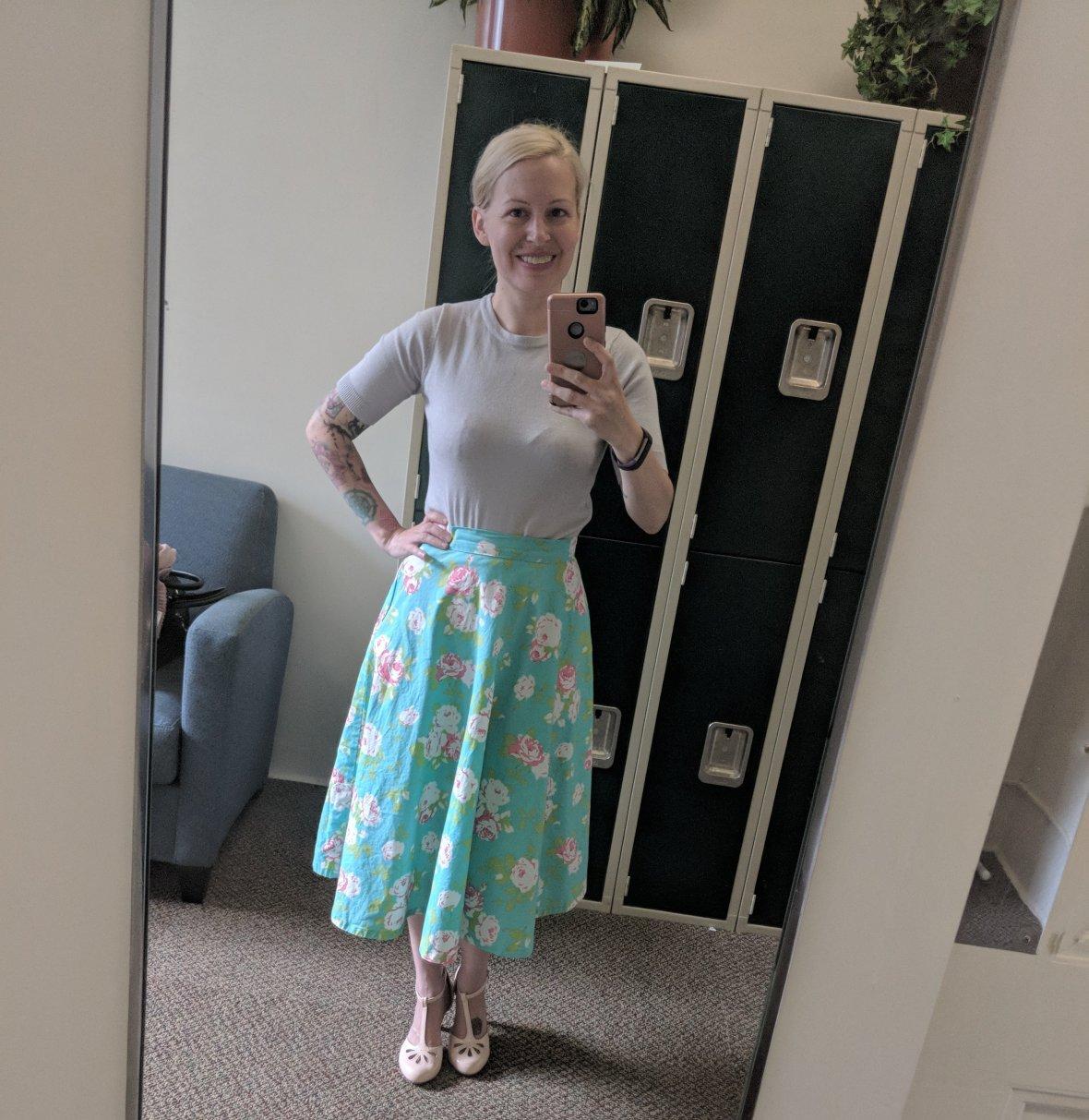 Simplicity Vintage Skirt 8446